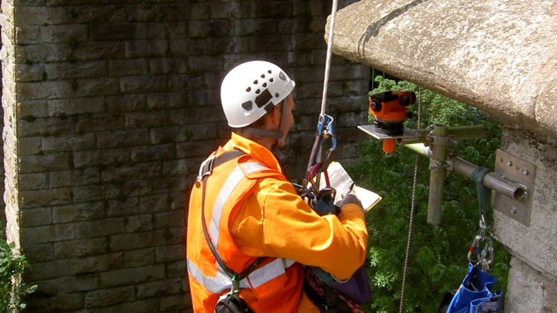 Inspection for assessment  - Bothal Viaduct, UK