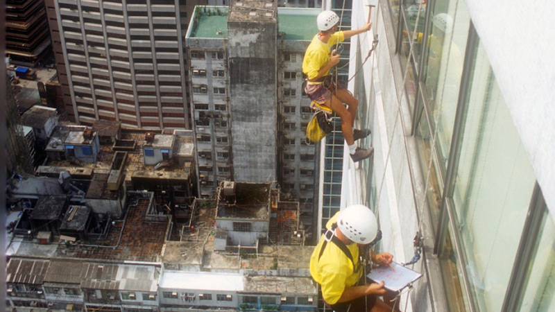 Building inspection - Southorn Centre, China